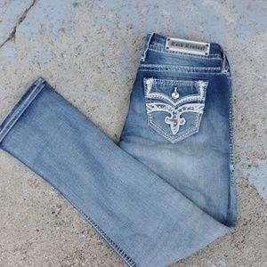 Rock revival melina easy straight Jean's. Size 29